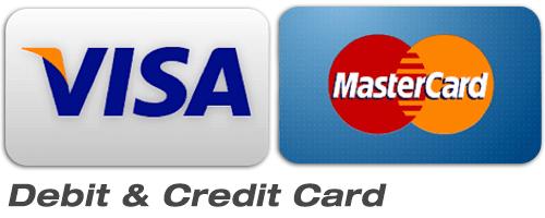 Visa & Master Card Accept